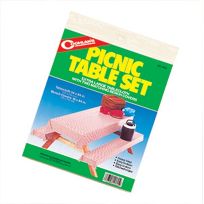Picture of Coghlan's  Picnic Table Set with Tablecloth 9155 03-0572