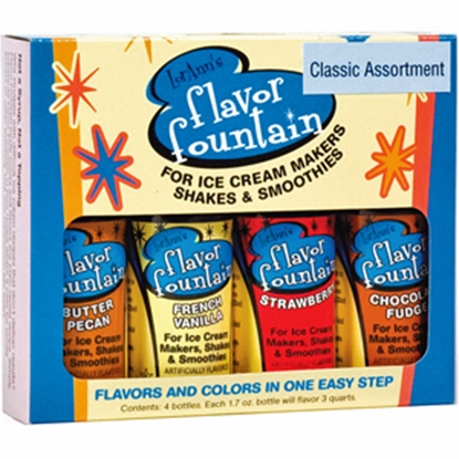 Picture of Industrial Revolution Yay Labs (TM) Ice Cream Flavor Fountain, 4/pk F-FF-4PK 03-0624