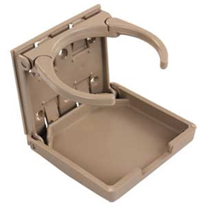 "Picture of JR Products  Tan Adjustable ""Mugger"" Drink Holder 45623 03-0667"