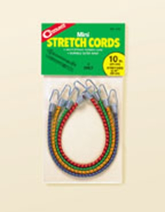 "Picture of Coghlan's  4-Pack 10"" Bungee Cord w/Plastic Coated Hooks 516 03-0679"