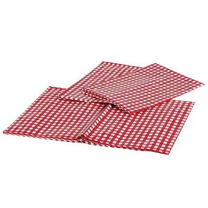 Picture of Camco  Tablecloth, & Bench Cover,Red/Wht Bilingual 51021 03-0713