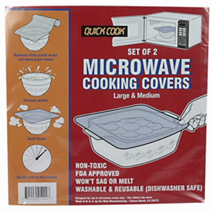 Picture of Camco  Microwave Cooking Covers, 2/pk 43790 03-0899