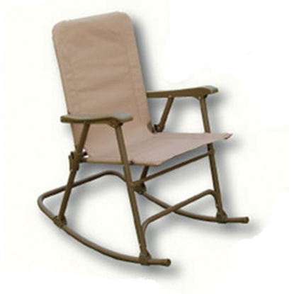 Picture of Prime Products Elite(TM) Arizona Tan Folding Rocker Chair 13-6506 03-0911