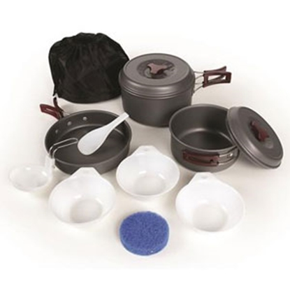 Picture of Camco  Hard Anodized Cook Set 51312 03-1466