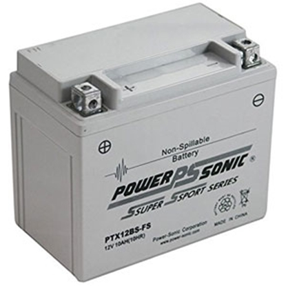 Picture of Power-Sonic  Battery,Power-Sonic Ptx12Bs-Fs PTX12BS-FS 03-1884