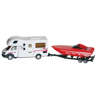 Picture of Prime Products  Class C & Speed Boat RV Action Toy 27-0027 03-3013