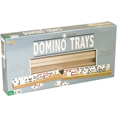 Picture of Poof-Slinky Ideal (R) Domino Trays Game 0X5304TL 03-3018