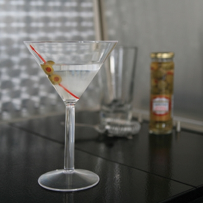 Picture of Camco  2-Pack PolyCarbonate Martini Glasses 43901 03-4019