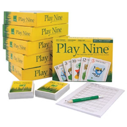 Picture of Play Nine PLAY NINE Play Nine Card Golf Game P11001 03-5934