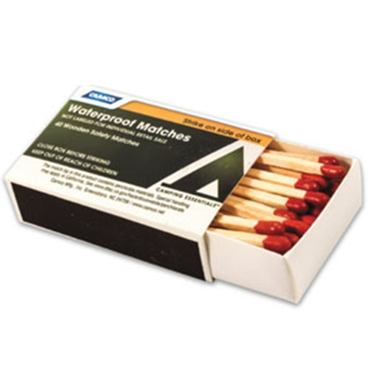 Picture of Camco  4 Boxes Waterproof Matches 51334 03-6552