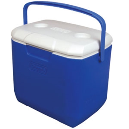 Picture of Coleman Outdoor  Blue 30 Quart Excursion (R) Beverage Cooler 3000001842 03-9946