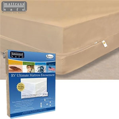 Picture of Mattress Safe Sofcover (R) Fawn Beige Waterproof Bunk Mattress Protector CWU-3474 FN 03-9953