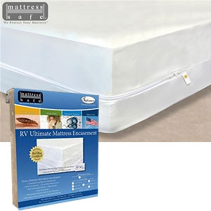 Picture of Mattress Safe Sofcover (R) White Waterproof Short King/King Mattress Protector CWU-7277.5 W 03-9959