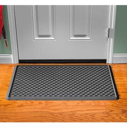 """Picture of Weathertech IndoorMat (TM) Black 39"""" x 24"""" Indoor Door Mat IDM1B 04-0096"""