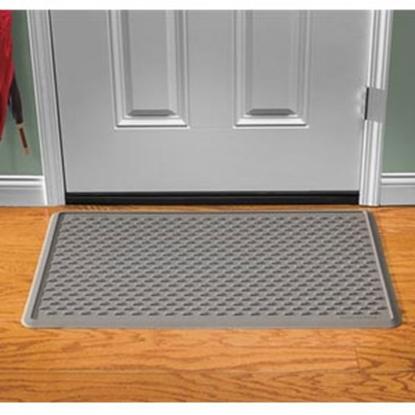 """Picture of Weathertech IndoorMat (TM) Gray 39"""" x 24"""" Indoor Door Mat IDM1G 04-0097"""