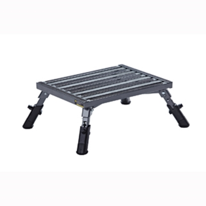 "Picture of Stromberg Carlson  6-3/8 to 8""H Adjustable Aluminum Folding Step Stool PA-250 04-0202"