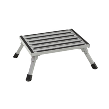 "Picture of Stromberg Carlson  2-3/4 to 8""H Adjustable Aluminum Folding Step Stool PA-100 04-0208"
