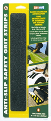 "Picture of Top Tape Gator Grip (R) Black 2"" x 12"" Anti-Slip Safety Grit Strip RE624BL 04-0262"
