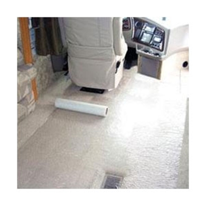 "Picture of Surface Shield  21"" x 1000' Reverse Wound RV Carpet Shield Protective Film 022-CSS211000RV 04-0398"