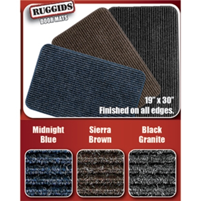 """Picture of Prest-o-Fit RUGGIDS (TM) Sierra Brown 19"""" x 30"""" Indoor Door Mat 2-0451 04-0441"""
