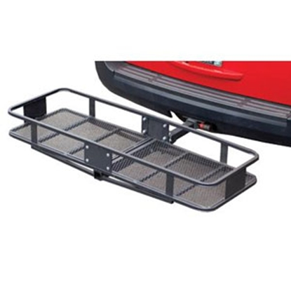 "Picture of Husky Towing  60""x20""x6"" 500 Lb Folding Cargo Carrier for 2"" Hitch 81149 05-0048"