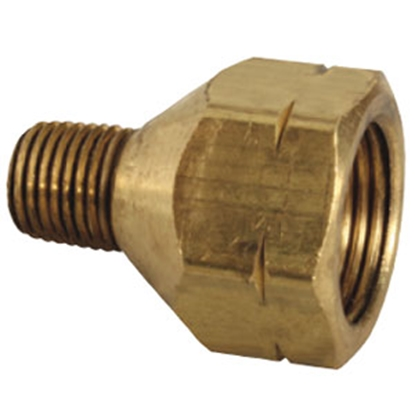 "Picture of JR Products  1/4"" MPT x FPOL LP Adapter Fitting 07-30095 06-0062"