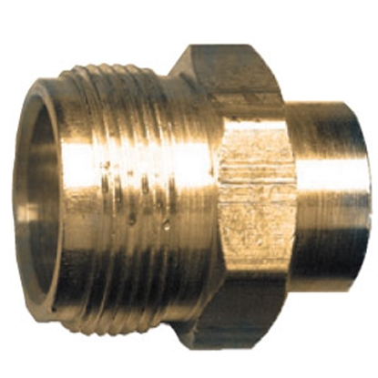 "Picture of JR Products  1""- 20 MCT x 1/4"" FPT LP Adapter Fitting 07-30145 06-0067"