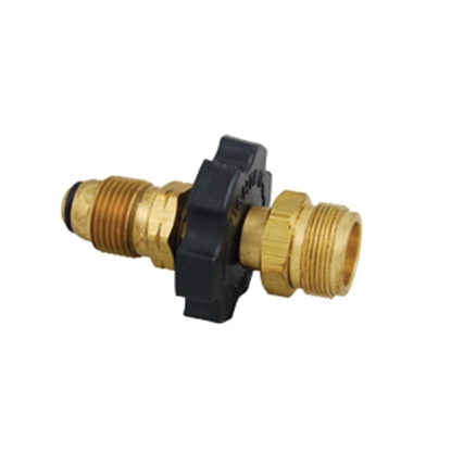 "Picture of Marshall Excelsior  #60 MPOL Inlet x 1""-20 MNPT Outlet Brass LP Adapter Fitting ME475 06-0083"