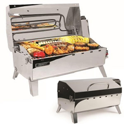 Picture of Camco Olympian  Electric & LP Gas Olympian Hybrid BBQ Grill 57252 06-0087