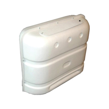 Picture of Icon  20# or 30# White Double LP Tank Cover 00386 06-0110