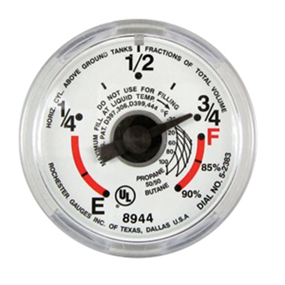 Picture of Manchester Tank  Snap-On Dial LP Tank Gauge G12653 06-0215