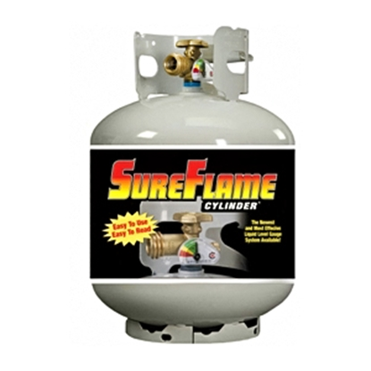 Picture of Manchester Tank SureFlame (R) 20# DOT Portable LP Tank w/Gauge & OPD Valve 10577 06-0224