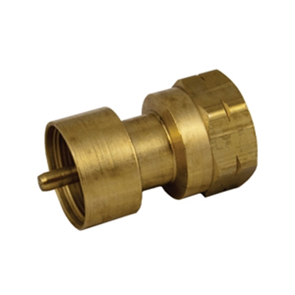 "Picture of Marshall Excelsior  1""-20 FNPT Inlet x FPOL Outlet Brass LP Adapter Fitting ME487P 06-0231"
