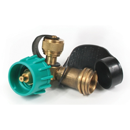 Picture of Camco  Brass 90 Deg LP Tee w/ 2 Ports 59133 06-0400