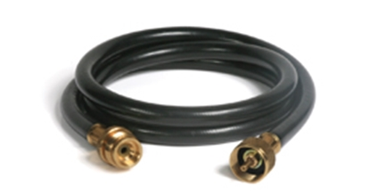 "Picture of Camco  5' 1""-20M x 1""-20F LP Extension Hose 59045 06-0463"