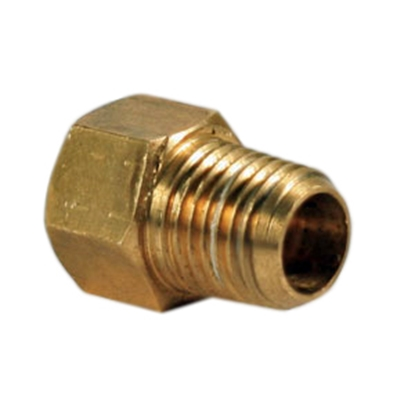 "Picture of Camco  1/4"" Male NPT x 1/4"" Female Inverted Flare Brass LP Hose Connector 59953 06-0530"