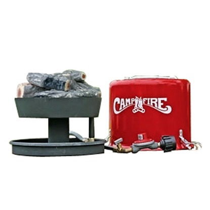 Picture of Camco Little Red Campfire (TM) Olympian Little Red Campfire Fire Pit 58031 06-1135