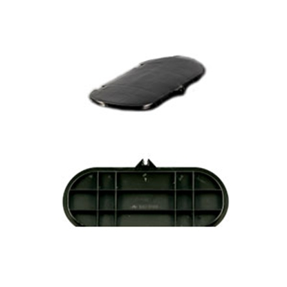 Picture of Camco  Black Plastic Replacement LP Tank Cover Lid 40567 06-2253