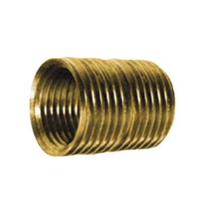 "Picture of Anderson Metal LF 7112 Series 3/8"" MPT Brass Fresh Water Straight Fitting 706112-06 06-9205"