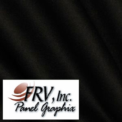 Picture of FRV  RM3662 Black Acrylic Refrigerator Door Panel Set 3662L 07-0187