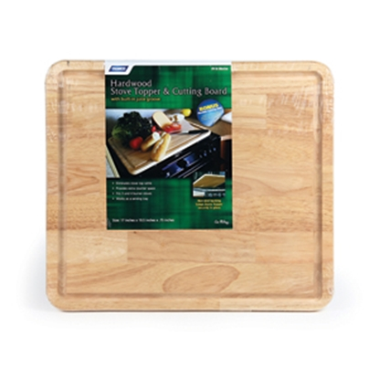 Picture of Camco  Oak Stove Topper/ Cutting Board 43753 07-0278