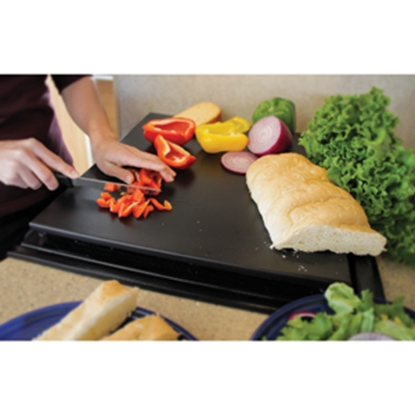 Picture of Camco Décor-Mate Black Polyethylene Stove Top Cover 43704 07-0287