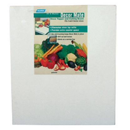 Picture of Camco Décor-Mate White Polyethylene Stove Top Cover 43707 07-0288