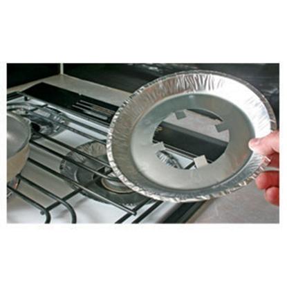 Picture of Camco Gas Stove Burner Liner Gas Range Burner Liners, 4/bag 43800 07-0300