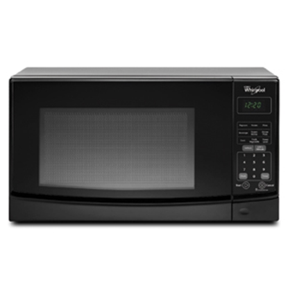 Picture of Whirlpool  0.7 CF 700W Black Microwave WMC10007AB 07-0403