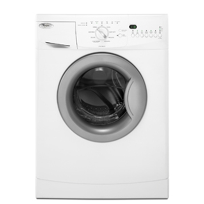 "Picture of Whirlpool  120V 23-3/8"" White Stackable 2.0 CF Clothes Washer WFC7500VW 07-0533"