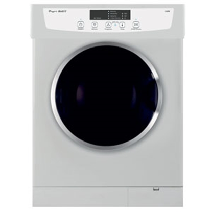 "Picture of Pinnacle Clothes Dryer 23.6"" White Stackable Vented Clothes Dryer 18-860 07-8520"