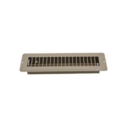 "Picture of AP Products  Brown 2-1/4""W x 10""L Floor Heating/ Cooling Register w/Damper 013-641 08-0159"