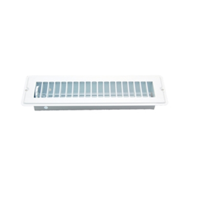 "Picture of AP Products  White 2-1/4""W x 10""L Floor Heating/ Cooling Register w/Damper 013-640 08-0167"