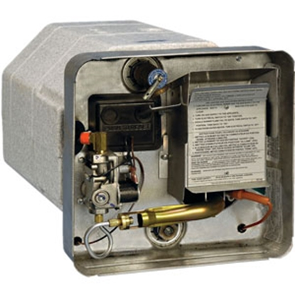 Picture of Suburban  12 Gal SW6DEL 12000 BTU Gas-Electric DSI Water Heater 5131A 09-0031